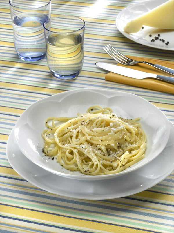 linguine pesto de noix