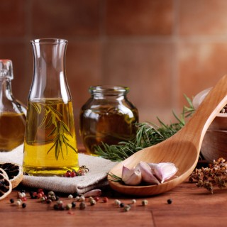 Marinades aromatisées huile